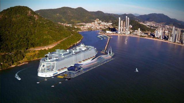 Porto de Transatlântico Balneário Camboirú
