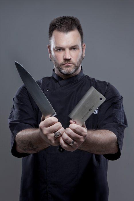 Chef Jimmy Ogro no Balneario Saboroso
