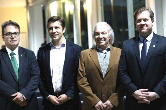 Julio Tedesco e Ministro Marx Beltrão Turismo