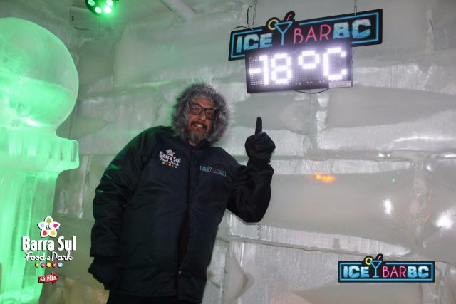 ice bar bc temperatura