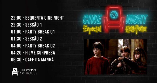 Cine Night Harry Potter