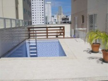 Apartamento 3 qtos com piscina privativa