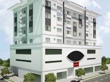 Apartamento de dois dormitórios Ed. Contemporanium